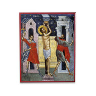 The Whipping of Jesus (Athos) Icon - F249