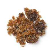 "Amount pictured here is 5 grams. Actual appearance may vary. Please note that Honey Amber Incense has a slightly moist and gritty texture, so your order may not only be comprised of solid chunks. However, the ""grit"" is made of the same material and burns exactly the same way as the chunks."