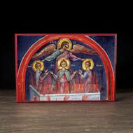 Three Holy Youths (Athos) Icon - S348