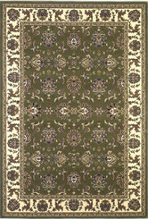 KAS Cambridge 7314 Green Ivory Kashan