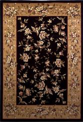 KAS Cambridge 7336 Black Beige Floral Delight