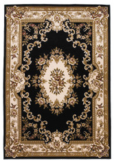 KAS Corinthian 5310 Black Ivory Aubusson