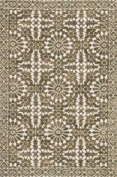 Magnolia Home Lotus LB-02 ANTIQUE IVORY OLIVE by Joanna Gaines