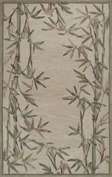 KAS Sparta 3146 Ivory Bamboo Border
