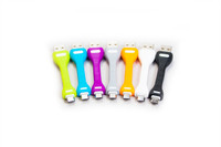Multi-colored micro USB Charging Cables