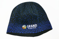 Grand Canyon Beanie Hat Blue and Black
