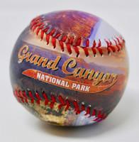Grand Canyon Color Photo Souvenir Baseball