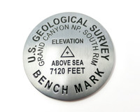 USGS Benchmark Replica Paperweight