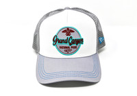 Grand Canyon Mesh Baseball Hat Gray with Patch