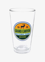 Grand Canyon Elk Pint Glass