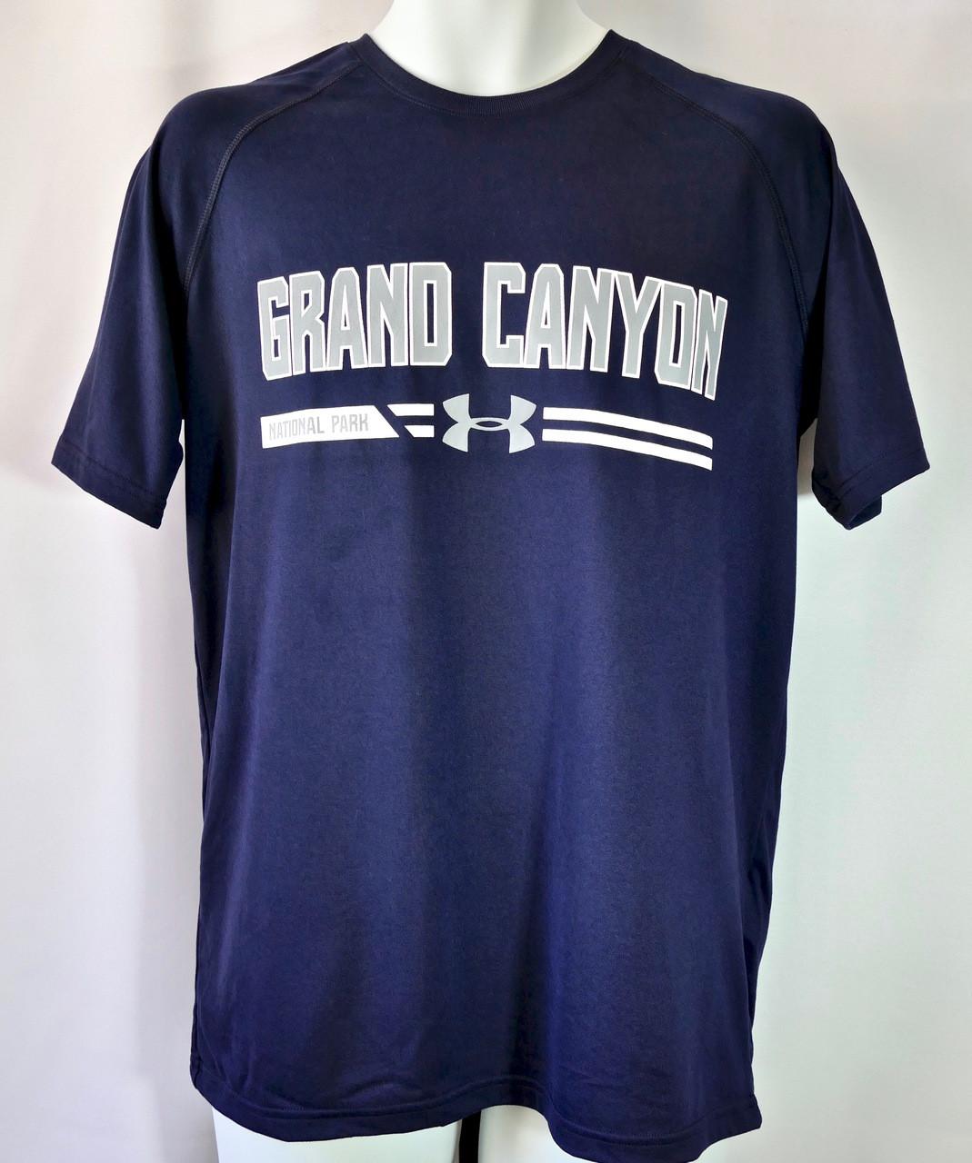 topowe marki całkowicie stylowy unikalny design Grand Canyon Under Armour Men's Shirt Navy Blue