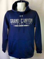 Grand Canyon Under Armour Pullover Hoodie Navy Blue