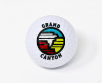 Grand Canyon Logo Golf Ball