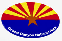 Grand Canyon National Park Arizona Flag Sticker