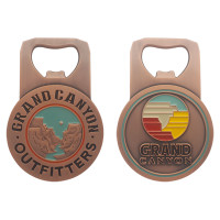 Grand Canyon Bottle Opener Antique Copper