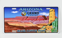 Grand Canyon State License Plate
