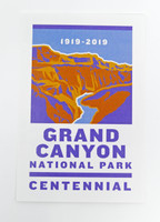 Grand Canyon Centennial 2019 Sticker