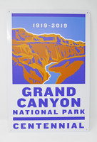 Grand Canyon Centennial 2019 Metal Sign