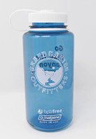 Go Hike the Canyon Grand Canyon Outfitters Nalgene Water Bottle Blue