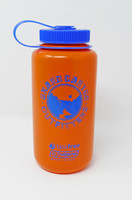Go Hike the Canyon Grand Canyon Outfitters Nalgene Water Bottle Orange