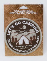 Grand Canyon Let's Go Camping Patch