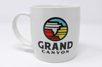 Grand Canyon Logo Mug