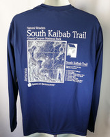 CLEARANCE South Kaibab Trail Men's Blue Long-Sleeved Shirt