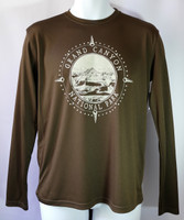 Grand Canyon Compass Men's Long-Sleeved Shirt