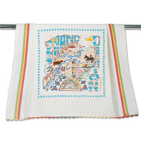 Grand Canyon Embroidered Dish Towel