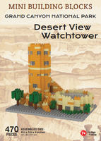 Desert View Watchtower Mini Building Blocks