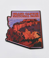 Grand Canyon Arizona State Magnet