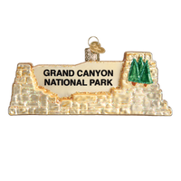Christmas Ornament Grand Canyon National Park Sign