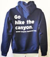 Go Hike the Canyon Hoodie Blue