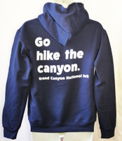 Go Hike the Canyon Hoodie Blue XXL