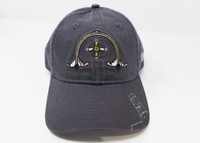 Grand Canyon Desert View Watchtower Mural Hat Gray