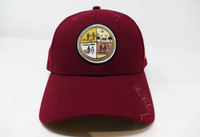 Grand Canyon Desert View Watchtower Mural Hat Red