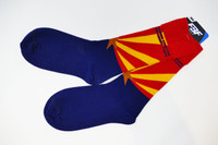 Grand Canyon Arizona State Flag Socks