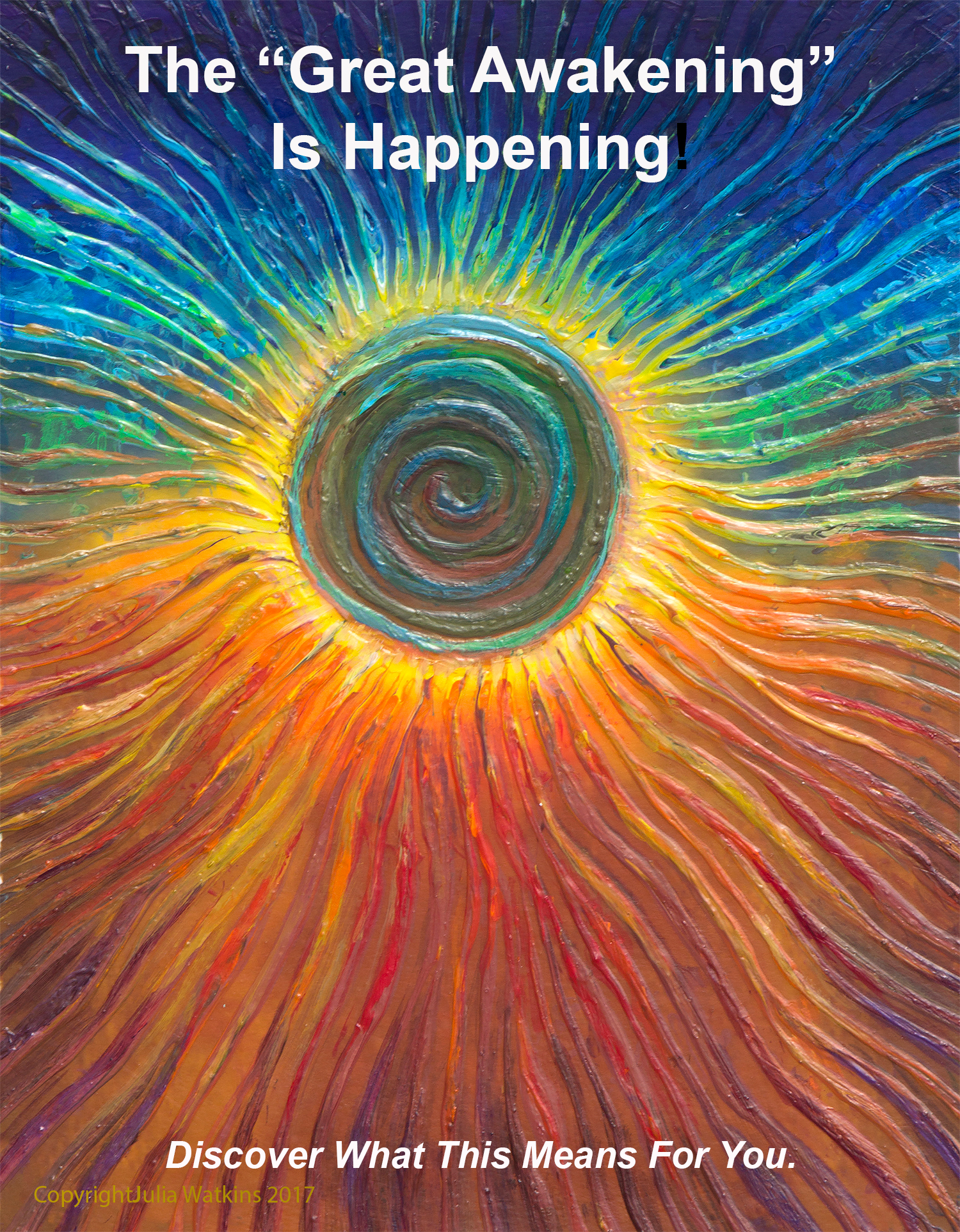 The Eclipse Transformational Energy Painting By Energy Artist Julia