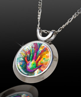 Inner Child Magical Energy Pendant - From The Magical Chi Collection *