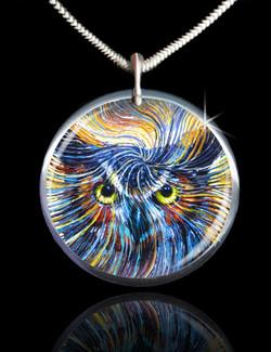 Owl Spirit Energy Pendant