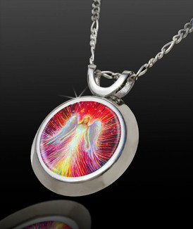 Angel Of New Hope Positive Energy Pendant -  From The Magical Chi Collection*