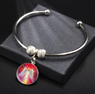 The Angel Of New Hope  Energy Charm Bracelet