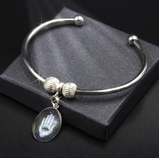 Hamsa Spiritual Protection - Energy Charm Bracelet