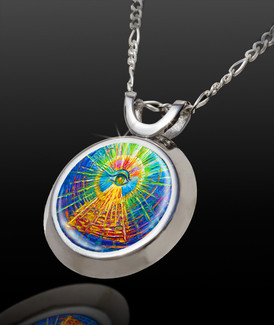 Eye Of Enlightenment Magical Energy Pendant - From the Magic Chi collection