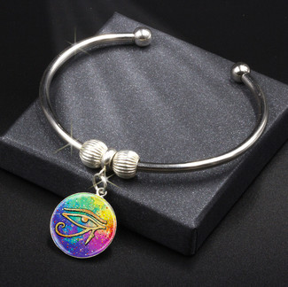 Eye Of Horus Spiritual Protection - Energy Charm Bracelet