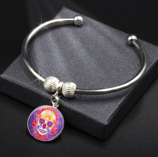 Day Of The Day Enlightenment - Energy Charm Bracelet