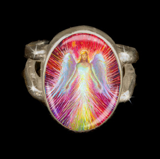 Angel Of New Hope Energy Ring