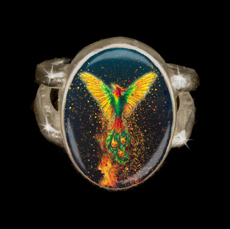 Phoenix Rising Energy Ring