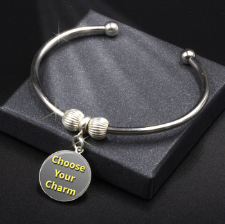 Adjustable Energy Charm Bracelet