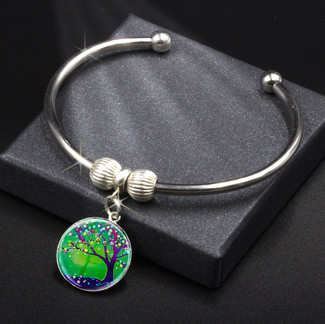 Tree Of Joy And Happiness Energy Charm Bracelet